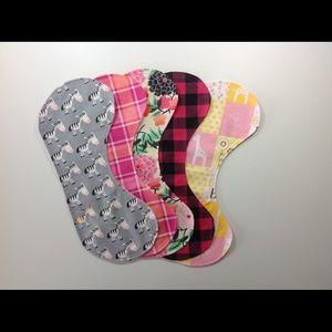 Other - Custom Made Burp Cloths - set of 4